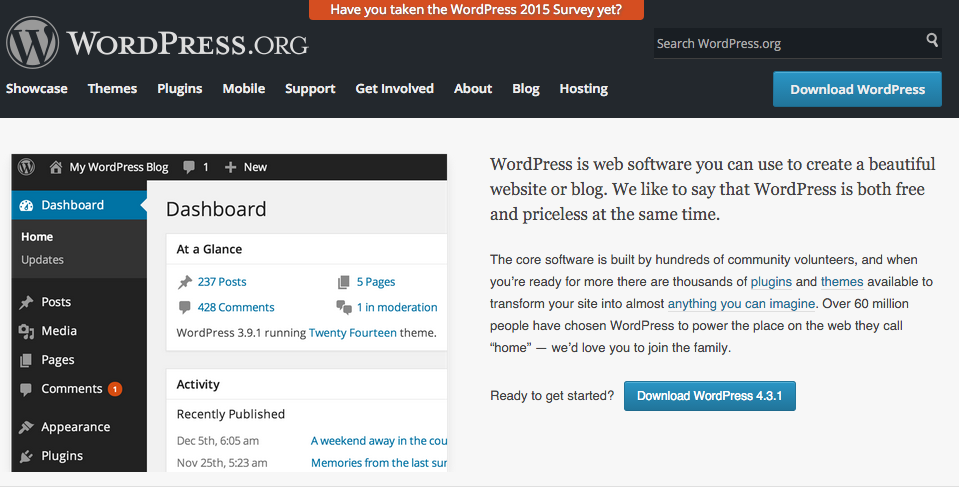 Changing WordPress Business Themes and Appearance