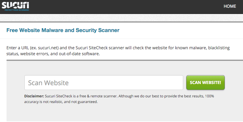 Free Small Business Website Security Scan | Finding Your